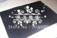 CA10303 mat Japanese style Carpet black color 120*160cm 3cm hair length 1piece/lot soft mat rug anti-slip handmade floor carpet