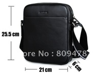 Freeshipping+Genuine Cow Leather+NEW Men leather shoulder Briefcase bag/handbags/men's bag,New+Fashion laptop bag