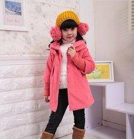 2013 female children's clothing baby cloth upset coat children's coat jacket fashion