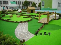 Golf putting green grass turf artificial lawn artificial leisure turf simulation lawn (light green)(China (Mainland))