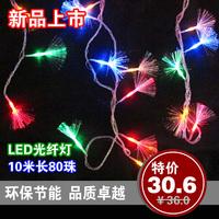 FREE SHIPPING Led fiber optic lighting string christmas lights  background light novelty lamps 10M*100
