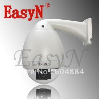 3pcs/lot  EasyN H3-B0L7 Waterproof Constant speed dome IP camera H.264 480TVL CCTV Camera