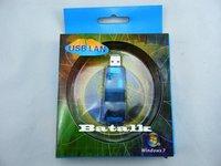 Free shipping USB 2.0 10/100 Ethernet LAN Network RJ45 Adapter Blue