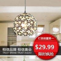 M modern brief pendant light crystal lamp restaurant lamp lamps fashion lighting 30005 as