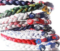 Wholesale hot selling US Baseball tornado Titanium necklaces 50pcs/lot Custom Size Mix teams no box