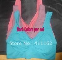 Dark Colored AHH Bra High quality 450pcs =150sets/lot S M L XL XXL OPP Bag package