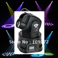 Hot Selling Mini Stage Lightings 15W Led Moving Head Lights Holiday Lightings for Parties or Events, New Item for 2013 Christmas