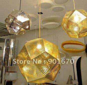 Free shipping TOM DIXON  etch metal article hotel engineer lamp pendant lamp suspend light residential dinning lighting 1 light
