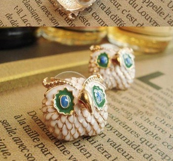Min Order 15USD  Vintage  The Owl Earrings  Fashion Jewelry D01317
