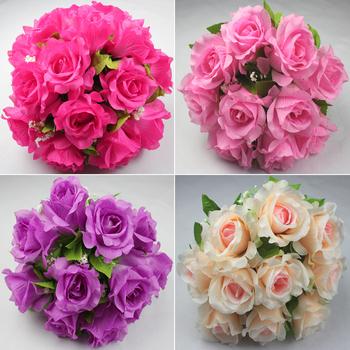 1Pack 10Pcs  Beautiful wedding arch  silk  artificial flower