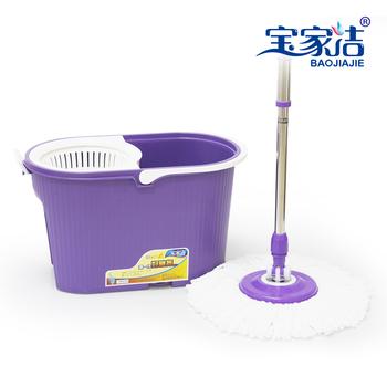 Dj hand pressure spin mop