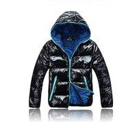 Free shipping 2012 Men's down jacket winter jacket fashion brand cotton coat W88089