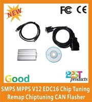 New Arrival SMPS MPPS V12 EDC16 Chip Tuning Remap Chiptuning CAN Flasher of Best Quality Fast Shipping