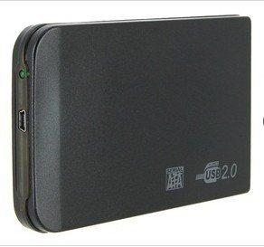 """Freeshipping USB 2.0 2.5"""" HDD Case Hard Drive SATA External Enclosure Box SATA Hard Disk Driver Enclosure"""