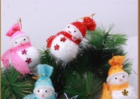 New Foam Snowman for Christmas tree Decoration Wholesale 10PC/lot Xman Gift