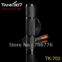 TANK007 TK-703 HA-III Cree Q3-WC 110-Lumen LED Flashlight - (1*AAA/1*10440)