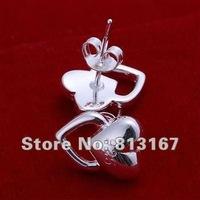 LQ-E127 Free Shipping 925 silver fashion jewelry earring 925 silver earrings wholesale aiaa izha rqqa