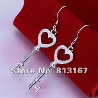 LQ-E135 Free Shipping 925 silver fashion jewelry earring 925 silver earrings wholesale aifa izma rqva
