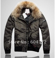 Warm Fur Collar Men's Down Coats Fashion Coats Winter Parka Men Thickening with Faux Fur Hoodies Down Jackets Size M L XL XXL