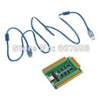 Free shipping,MACH3 USB Interface Board Manual Control Board with USB Cable NEW