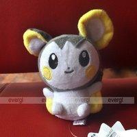 "Pokemon Plush Soft Doll Toy Pikachu Emonga Emolga 6"""