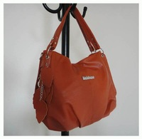 popular leisure handbags, Size:38 x 29cm,PU + Accessories,4 different colors,Two function,promation for christmas! Free shipping