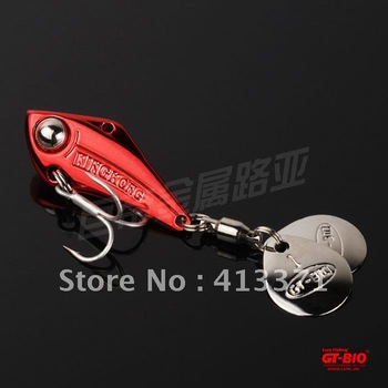 Rotary vane lure  three hook 18g fishing lure