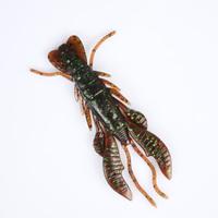 Free shipping, 10bags/lot, 10cm/12g, Lure soft bait shrimp soft bait lure set, Force Craw