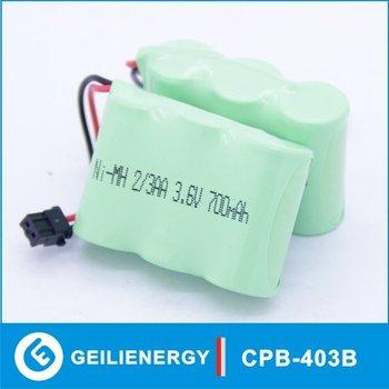 NI-MH  2/3AA 3.6V 700mAh AT&T GE CPB-403B Cordless Phone Battery free shipping