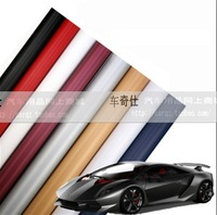 Free Shipping!!HOT SALE 1.52*3M 3D Carbon Fiber Vinyl Car Wrapping Foil,Car Wrap Films,Car Color Stickers