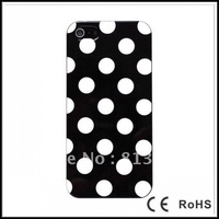 50pcs DHL free shipping Polka Dots Soft TPU Case for iPhone 5 5G 5th 50pcs/Lot 7 Colors for Choice Top Quality