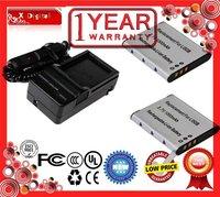 Charger (free of charge) + 2 x Battery for OLYMPUS LI-50B,VG-170, VH-510, XZ-1, OLYMPUS D, Mju, SH, SP, SZ, Stylus, TG, Tough