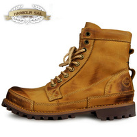 OTTO 2012 fashion high quality autumn and winter thickening martin tooling casual rivet male ankle boots free shipping