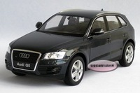 New AUDI Q5 1:24 Alloy Diecast Car Model Toy Collection With Box Gray B099e