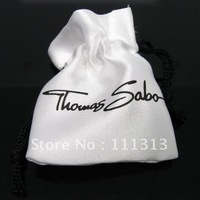 Free shipping, Ts Charms Box, 9x7cm Silk Bag Packing