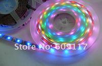 $10 off per $100 DHL Free Shipping  50M/lot magic rgb led strip 5050 smd  waterproof