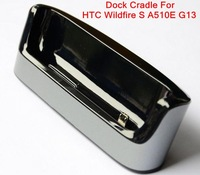 Free Shipping 10pcs/lot USB Cradle Dock For HTC Wildfire S A510E G13,High quality+drop shipping