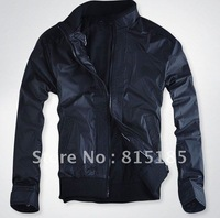 free shipping Mens jackets casual jacket male Korean slim trendy men washed jacket free EMS