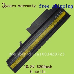 New laptop battery for Lenovo IBM ThinkPad T40 T41 T42 T43 R51 R52 R53 Series 08K8193 08K8195 08K8214 6 cells, Free shipping(China (Mainland))
