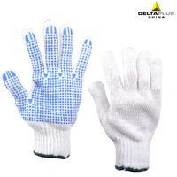 Deltaplus 208006 pvc point plastic gloves knitted gloves yarn gloves