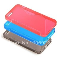 Fashion S Type TPU Case for iPhone 5