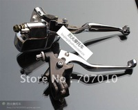Front Brake Master Cylinder for  XV125 XV250 XV535 XV400 CHROME Fit 7/8&quot; SKULL