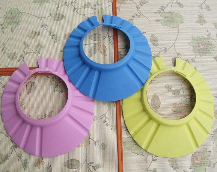 Free shipping random color optional, source price wholesale, safety shampoo cap bath cap children shampoo cap SL009(China (Mainland))