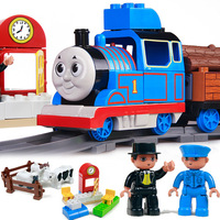 Thomas train track toy electric toy gift set