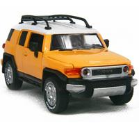 Toy car toy car alloy WARRIOR alloy car models TOYOTA cruiser belt acoustooptical
