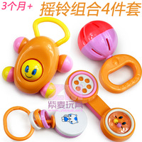 Toy educational toys rattles, combination of music bell 4