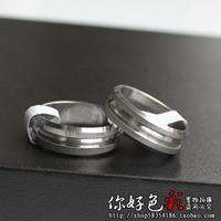 Heterochrosis personalized ring titanium ring male ring boys ring
