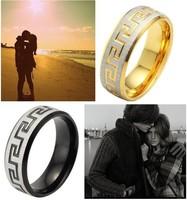 Great wall titanium ring titanium boys male ring