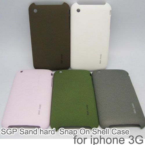 10PCS. quicksand hard Snap On Shell Case For iphone 3G/3GS,with Retail package,free shipping(China (Mainland))
