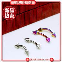 Popular titanium muotipurpose 961 titanium earrings eyebrow ring stud earring ear